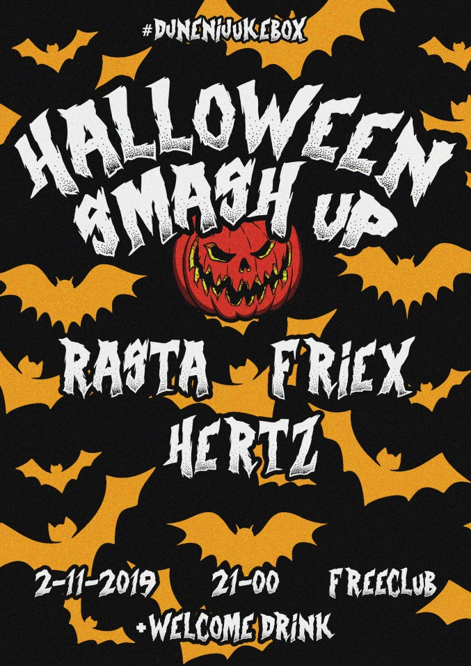 Halloween Smash Up